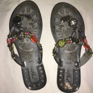 Shoes - Jelly Thong Sandals $8